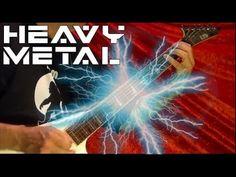 HEAVY METAL GUITAR SHREDDING! ( With Lesson Links ) Bobby Crispy