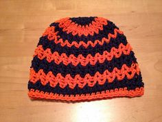 Ravelry: SweetCakers' Tiger Hope Beanie (pattern to use RH Team  Spirit yarn)