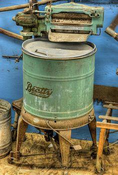 antique washing machines | Antique Beatty Agitator Washing Machine (c. 1920's) - Metchosin ...