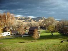 Oregon--small, beautiful campground