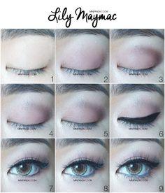Bloggang.com : miNipanda-z : BEAUTY :: HOW TO LILY MAYMAC MAKE Inspired Makeup แต่งเป็นสาวลิลี่ปากอวบอิ่ม