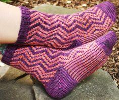 Volteado sock : Knitty.com - Deep Fall 2014