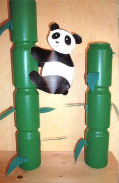 maternelle panda bambou - Recherche Google
