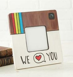 "Father's Day ""Instagram"" Wood Frame, large"
