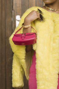 ~Fifty Shades Pink #joliethrone #fashionblogher #kenyanblogger #ootd #styleinspo #fashion #style #chic #badandboujee #fauxfur #highwaist #lace #curvystyle #classy #midiskirt #vsco #potraits #detail #clutchbag Bad And Boujee, Fifty Shades, Curvy Fashion, Clutch Bag, Faux Fur, Vsco, Midi Skirt, Personal Style, Satchel