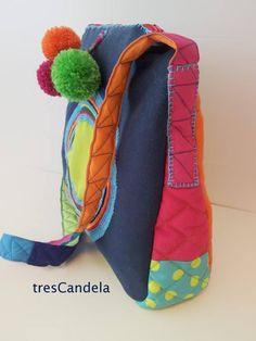 Bolso tresCandela, estilo bandolera www.trescandela.com