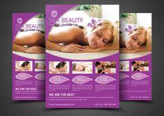 Beauty Salon Spa - Flyer Templates by AfzaalGraphics on @creativemarket
