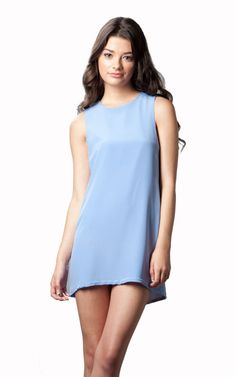 Naven Twiggy Dress in Periwinkle now on Sale...perfect gift for UNC Chapel Hill Tarheel fans!