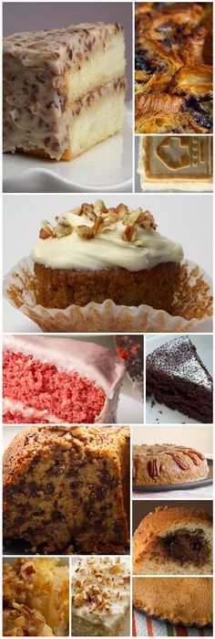 Easter baking ideas ... gotta try the banana cake ... looks delicious