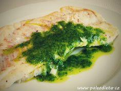 PALEO DIETA: Kanic s persijádou / Grouper with persillade