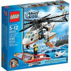 Lego City Coast Guard Patrol Helicopter with Minifigures & Catamaran, Multicolor Van Lego, Lego Toys, Lego Coast Guard, Coast Guard Helicopter, Toys R Us, Kids Toys, Lego City Fire Station, Lego City Sets, Lego City