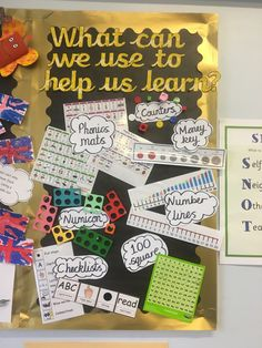 Independent learners display board #classroom #classroomdisplay #learning #numicon