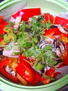 簡単、時単料理!(*^^*) 白ワインに良く合いますよー♪ - 14件のもぐもぐ - メカジキと野菜のレンチン蒸し by tomtom-verde