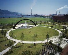 20120718-Saiki-Peace-Memorial-Park-by-Earthscape « Landscape Architecture Works | Landezine
