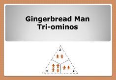Gingerbread Man Tri-ominos