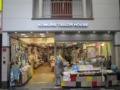 Sally thought Sparkle: My Guide to Fabric Shopping In Japan