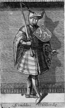 Arnulf, Count of Holland --- 34th grandfather