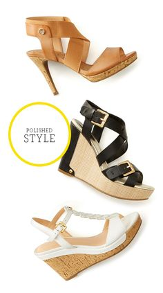 High and happy heels that are sure to give every outfit a leg up.