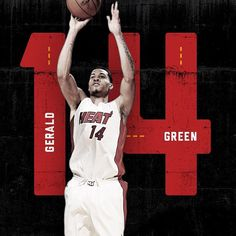 @g.green14 will wear No. 14 for your @miamiheat!
