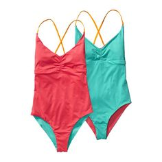 01f541cc1d Patagonia Women  s Reversible One-Piece Kupala Swimsuit - Shock Pink SHKP  Best