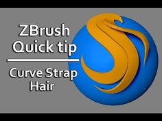 Zbrush Quick Tip- Curve Strap Snap Hair - YouTube