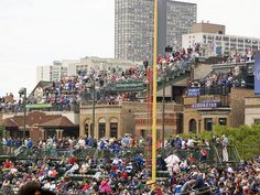 """Watch the Chicago Cubs play from a """"Wrigley rooftop."""""""