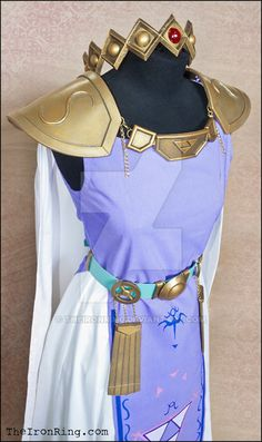 Princess Hilda cosplay outfit with crown by TheIronRing