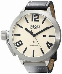 U-Boat 5571 Classico Men's Wristwatch – Houffpauir Swiss Watches Mens Watches For Sale, Best Watches For Men, Cool Watches, Rolex Watches, Casual Watches, Citizen Watch, Designer Clothes For Men, Fashion Watches, Outfit