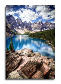Beautiful Moraine Lake in Baniff by Taylor.McBride™, via Flickr   #travel #banff #canada