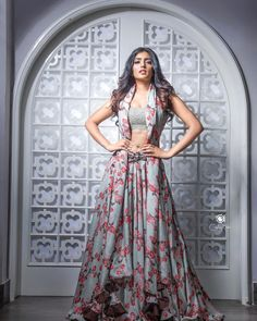 Eesha Rebba Navel Show In Pink Lehenga Choli Pink Lehenga, Lehenga Choli, Anarkali, Sarees, Tamil Actress Photos, Beautiful Girl Indian, Beautiful Women, Indian Models, Indian Ethnic Wear