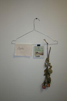 Coat hanger frame