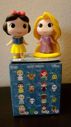 Funko Pop Mystery Minis Disney Walgreens Exclusive Figure Snow White n Rapunzel
