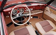 A GP history of the Volkswagen Type 14 Karmann Ghia, an iconic small, sporty coupe. Volkswagen Karmann Ghia, Karmann Ghia Cabrio, Karmann Ghia Convertible, Volkswagen Type 3, Vw T1, Bmw M4, Bentley Continental, Carros Vintage, Vw Variant
