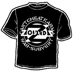 Zounds,''cant cheat..''blk T-Shirt $14.90 #punk #rock #music #clothing #shirts www.drstrange.com