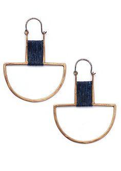 Curator - CAEL EARRINGS, $102.00 (http://www.curatorsf.com/cael-earrings/)