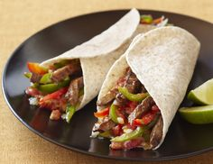This fajitas recipe can be made outside on the grill or inside in a skillet. You can use it for chicken or beef fajitas.
