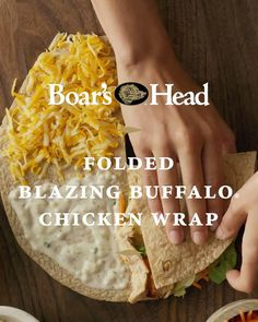 Sandwich Sides, Sandwich Fillings, Healthy Tortilla, Tortilla Wraps, Chicken Wrap Recipes, Chicken Meals, Buffalo Chicken Wraps, Diabetic Meal Plan, Snacks To Make