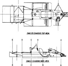 chaparral blueprints - Google Search