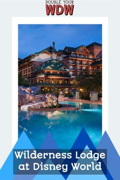 Everything you need to know about staying at the Deluxe Resort Wilderness Lodge at Walt Disney World. Including resort maps, room rates and types, amenities, restaurants, resort transportation, and more #disney #disneyworld #waltdisneyworld #disneyresorts #disneyvacation #disneyplanning #disneytips #vacationplanning Disney Vacation Club, Disney Vacation Planning, Disney World Planning, Disney Vacations, Disney Trips, Disney Travel, Vacation Ideas, Orlando Resorts, Hotels And Resorts