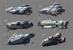 Subnautica: Sci-Vessel Starship Early Concepts V1, Pat Presley on ArtStation at https://artstation.com/artwork/subnautica-sci-vessel-starship-early-concepts-b2781fe0-961f-4e6b-99c7-5bb46b990e66