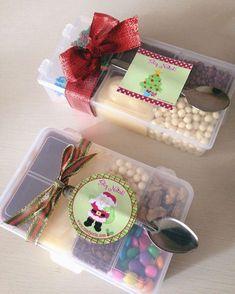 O adesivo está escrito feliz natal, mas achei uma ótima ideia para a Páscoa! ❤