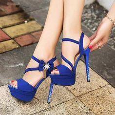 Fashion Elegant Bowknot Beading Platform High Heel Sandals fashion shoes elegant heels bowknot heel sandals