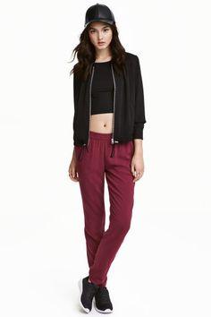Spodnie Loose fit   H&M