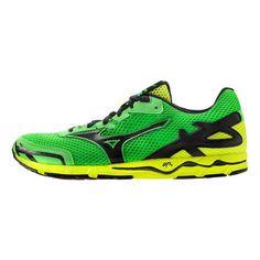 18d20da3c9524 Men s Mizuno Wave Musha 5 Running Shoe - Green Black 11