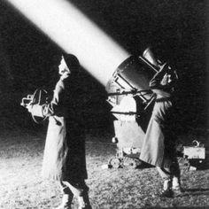 Lotta Searchlight Unit in action