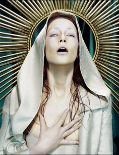 Miles Aldridge Virgin Mary