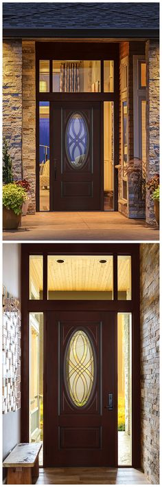 Add style to your home and subtract dollars from your energy bill. Fiberglass entry doors are five times more energy efficient than wood doors, and they look great, too. See our selection of fiberglass doors at The Home Depot.