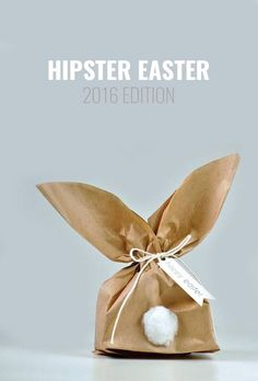 DIY bunny treat bags - Hipster Easter – 2016 Edition