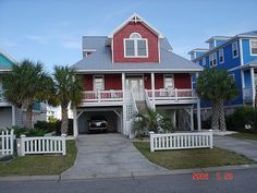 white roof house - Google Search