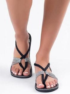 7036930481d7 Genuine Hand Made Leather Retro Lace Up Flat Summer Roman Sandals ...